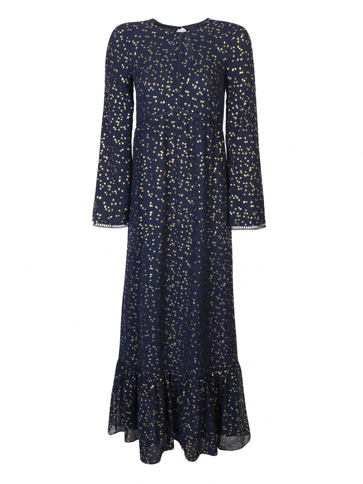 Платье-макси, с цветочным узором Michael by Michael Kors  –  Общий вид
