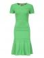 Трикотажное платье-мини N21  –  Общий вид