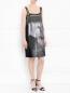 Платье-мини декорированное пайетками Philosophy di Alberta Ferretti  –  Модель Общий вид