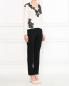 Брюки прямого кроя с боковыми карманами Moschino Cheap&Chic  –  Модель Общий вид
