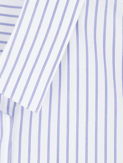 Платье рубашка из хлопка с отстегивающимися деталями - Деталь