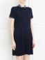 Платье с узором и контрастной отделкой Paul&Joe Sister  –  Модель Верх-Низ