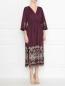 Платье из хлопка с вышивкой Weekend Max Mara  –  МодельВерхНиз