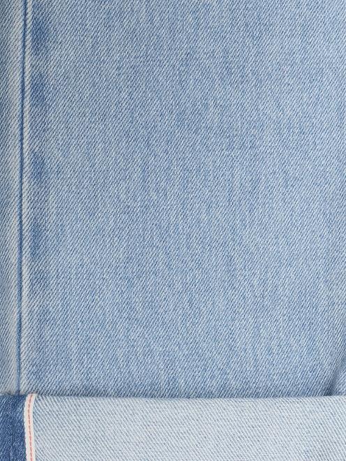 Джинсы прямые из плотного хлопка - Деталь2