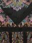 """Платье из шелка с узором """"пейсли"""" и кружевной отделкой Etro  –  Деталь"""