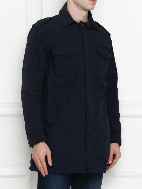 Куртка с накладными карманами - МодельВерхНиз