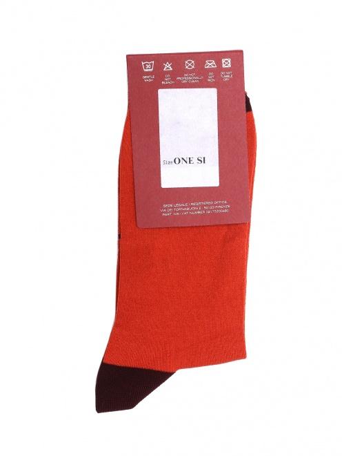 Носки хлопковые с логотипом  - Общий вид
