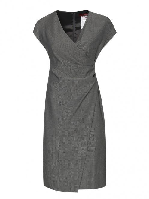 Платье из шертси и шелка  - Общий вид