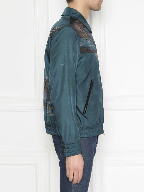 Куртка на молнии с аппликацией - МодельВерхНиз2
