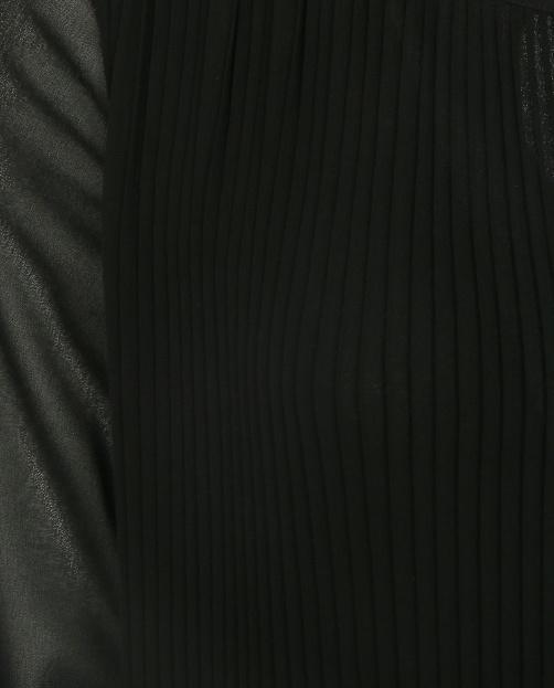 Блуза с плиссировкой и длинным рукавом - Деталь