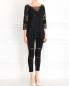 Трикотажные брюки с прозрачными вставками Kira Plastinina  –  Модель Общий вид