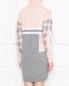Трикотажное платье из шерсти с узором Bosco Fresh  –  МодельВерхНиз1