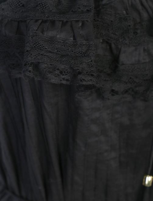 Платье из хлопка с кружевной отделкой - Деталь1