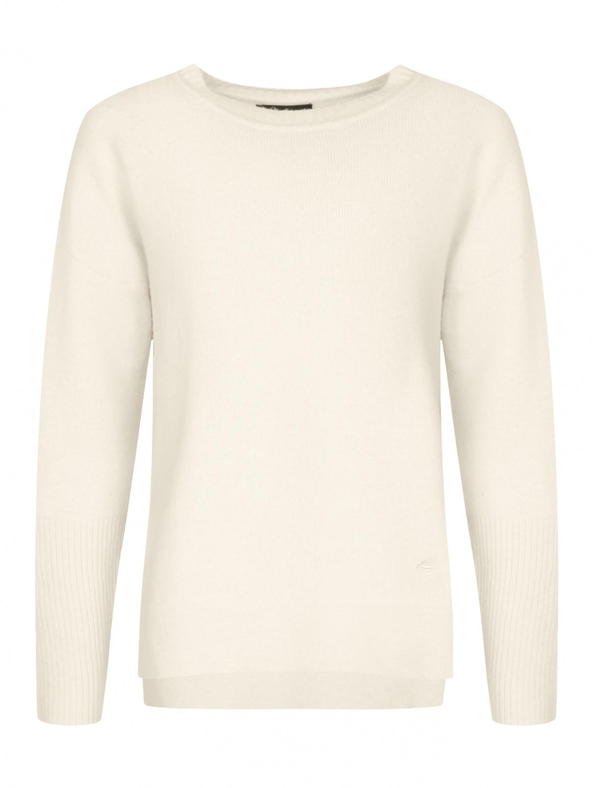 Джемпер из шерсти и кашемира Markus Lupfer  –  Общий вид  – Цвет:  Белый