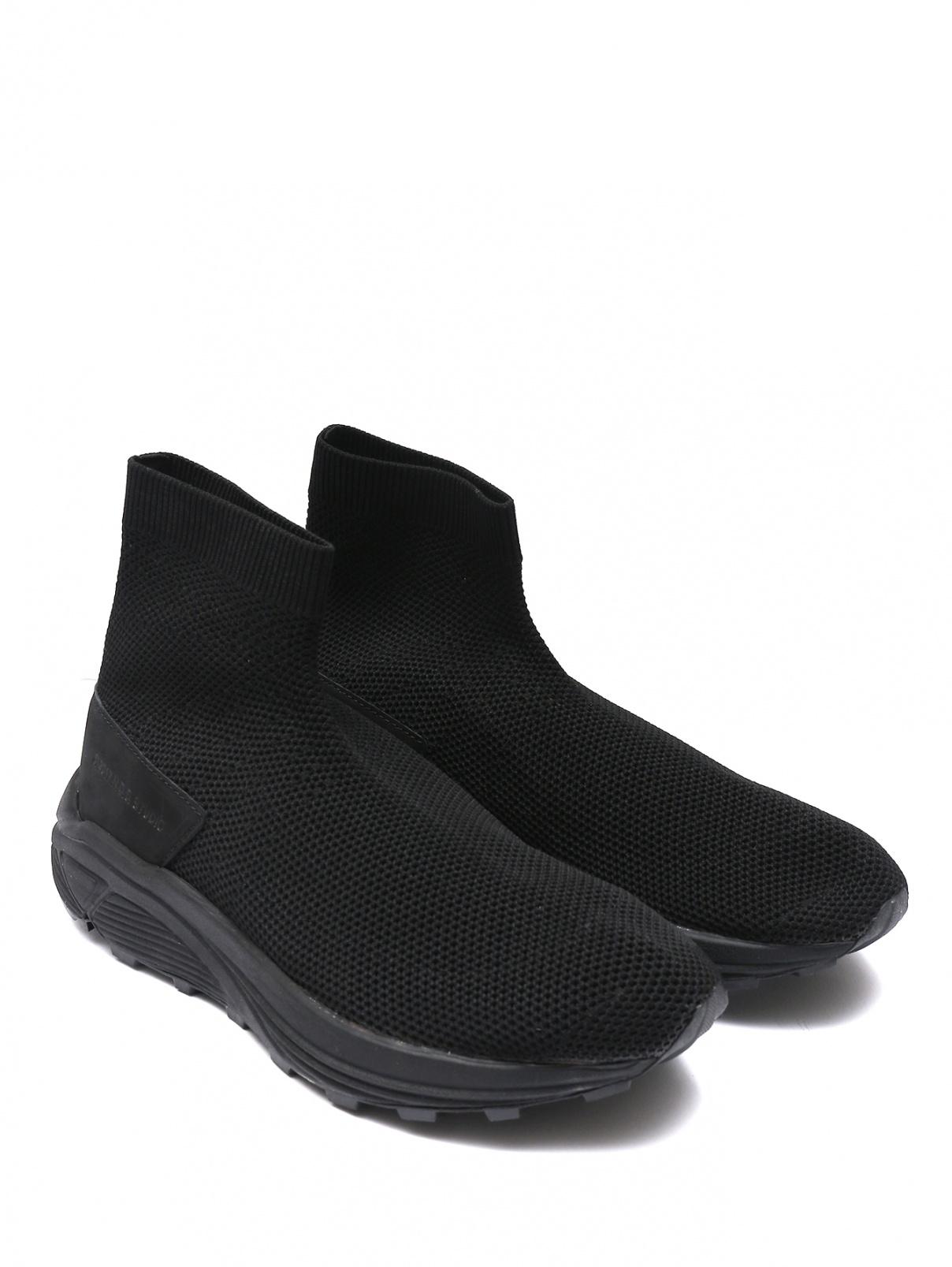 Кроссовки из текстиля N.D.G STUDIO  –  Общий вид  – Цвет:  Черный