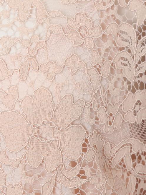 Блуза с кружевным узором - Деталь