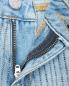 Джинсы зауженного кроя с декором Karl Lagerfeld  –  Деталь1