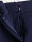 Узкие трикотажные укороченные брюки Diane von Furstenberg  –  Деталь1