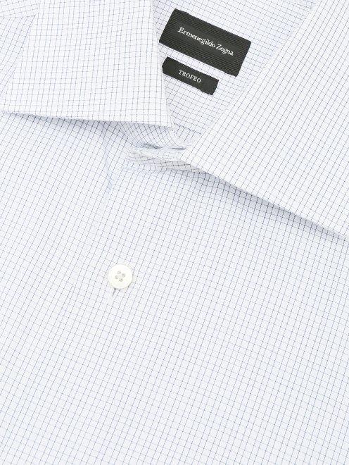 Рубашка из хлопка с узором - Деталь1