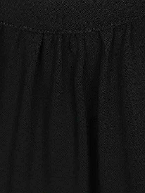 Платье свободного кроя с боковыми карманами - Деталь1