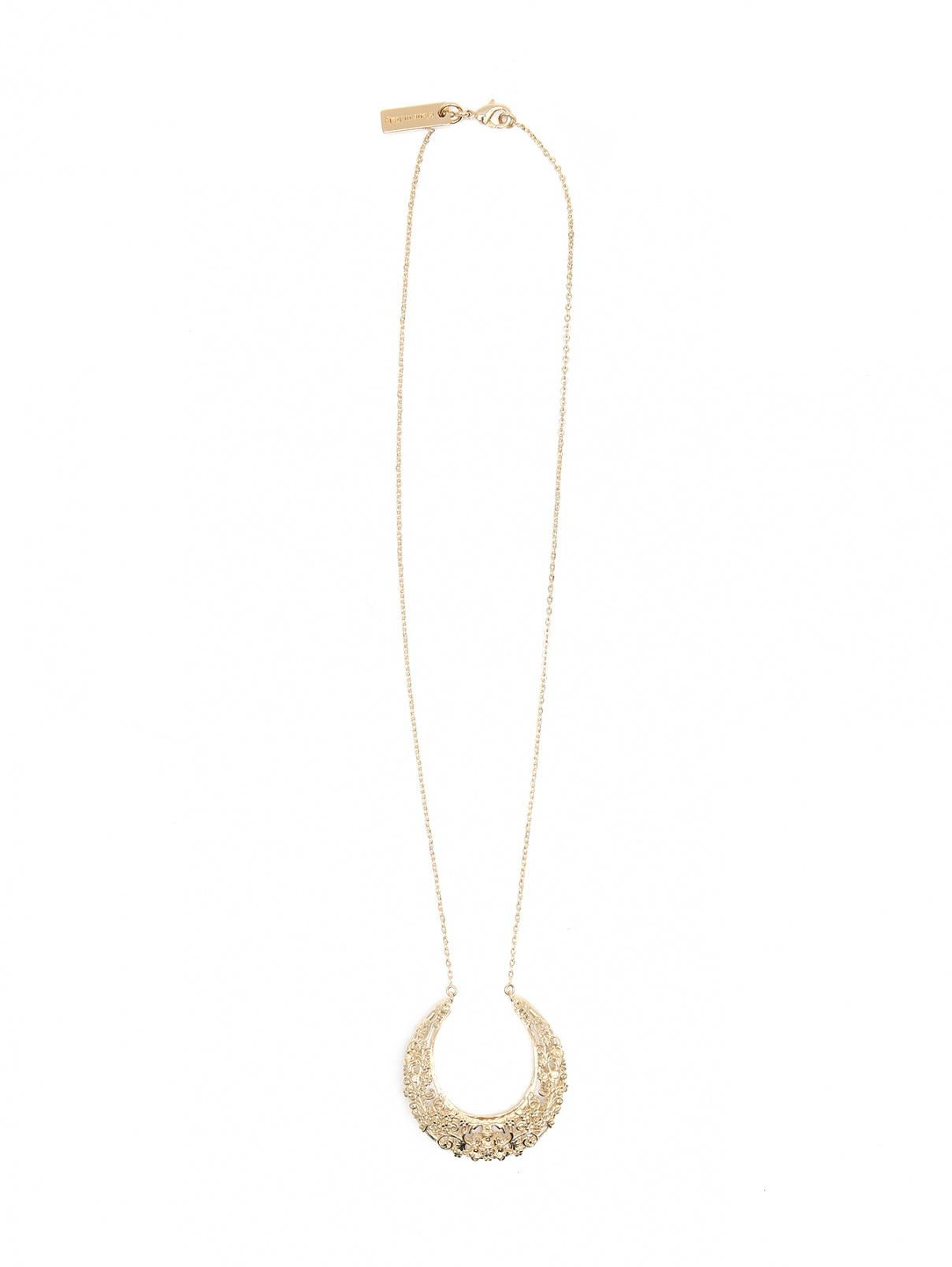 Кулон из меди на цепочке Etro  –  Общий вид  – Цвет:  Золотой