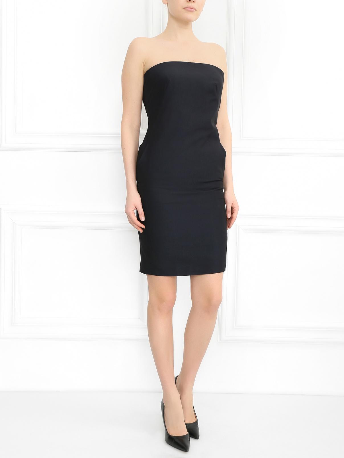 Платье-мини из шелка Jean Paul Gaultier  –  Модель Общий вид