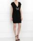 Платье-мини с декором Andrew GN  –  Модель Общий вид