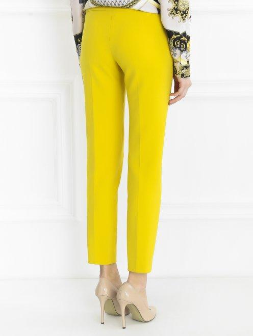 Укороченные брюки прямого кроя - Модель Верх-Низ1