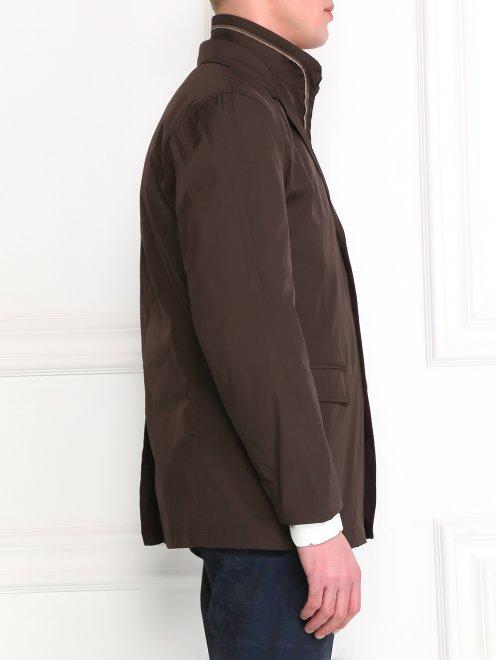 Пиджак с подкладом на молнии - Модель Верх-Низ2