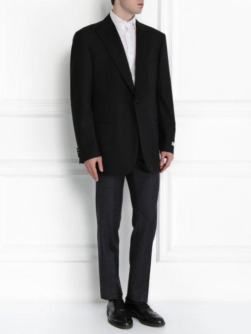 Пиджак из шерсти - Модель Общий вид