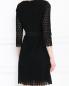 Платье-мини из хлопка с рукавами 3/4 Diane von Furstenberg  –  МодельВерхНиз1