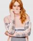 Трикотажное платье из шерсти с узором Bosco Fresh  –  Деталь