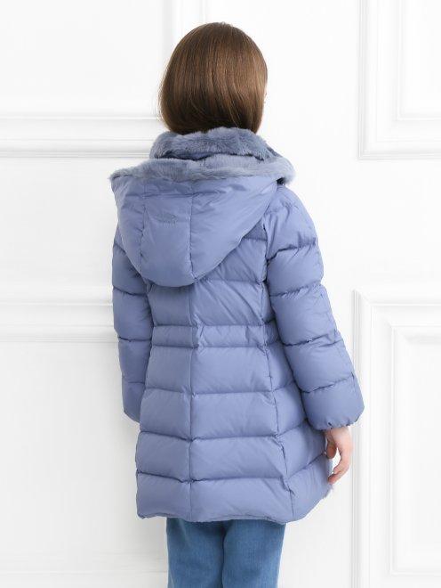 Куртка на подкладе из меха кролика - МодельВерхНиз1