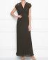 Плиссированное платье с кружевной отделкой P.A.R.O.S.H.  –  МодельОбщийВид