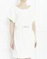 Платье из мохера с напылением Maison Ullens  –  Модель Верх-Низ