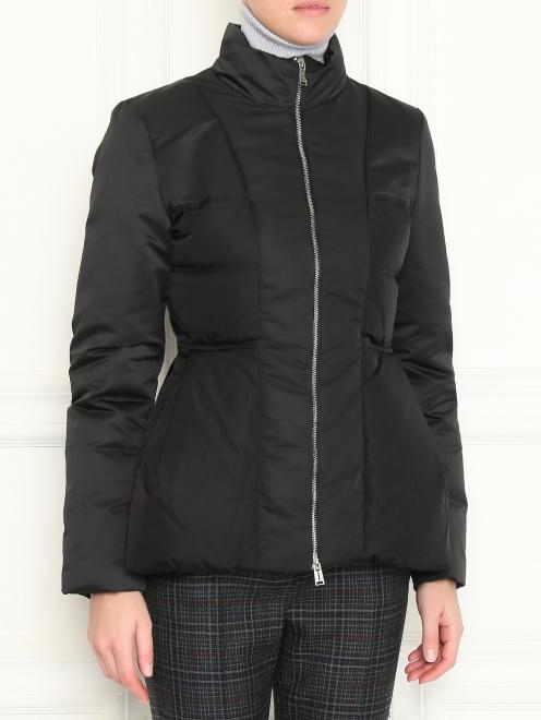 Куртка на молнии приталенного кроя  - МодельВерхНиз