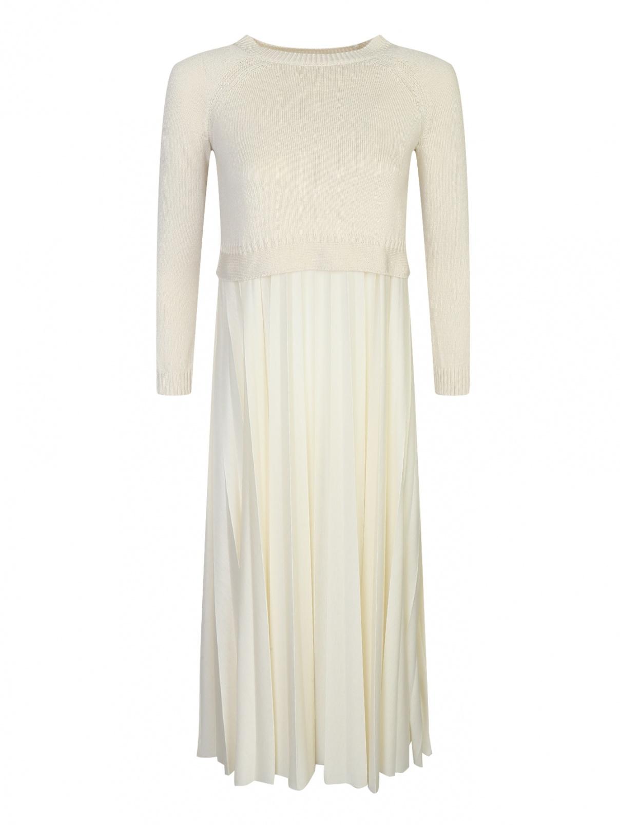 Трикотажное платье свободного кроя Weekend Max Mara  –  Общий вид