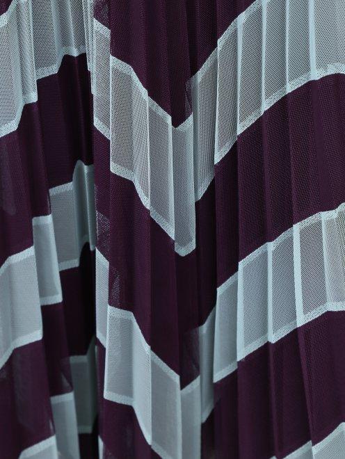 Юбка из плиссированной ткани с узором - Деталь1