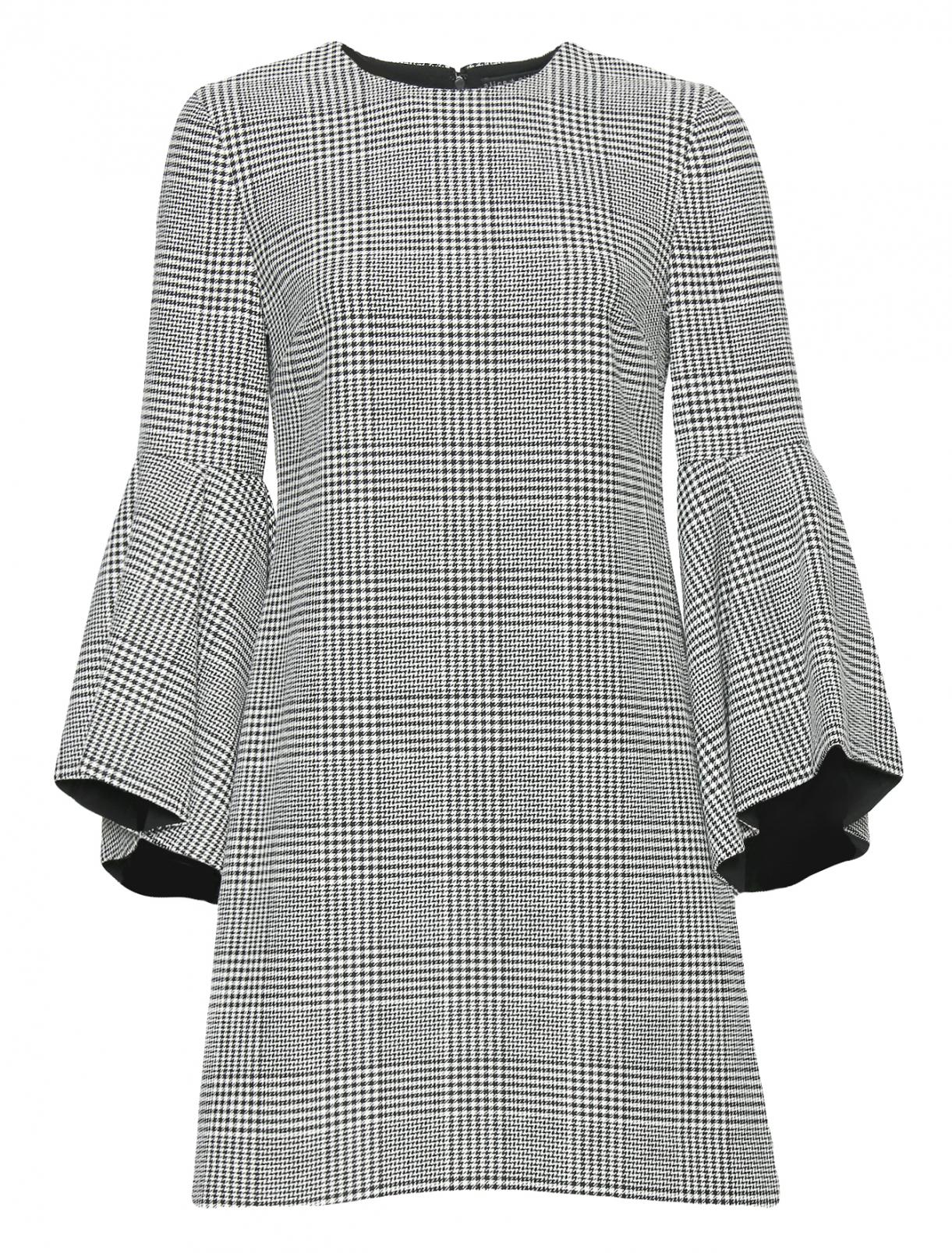 Платье-мини с узором Alice+Olivia  –  Общий вид